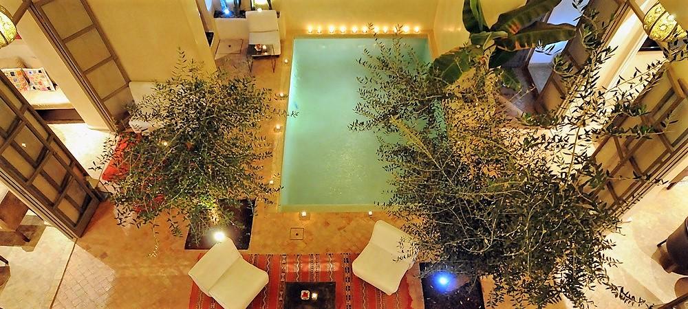 Riad marrakech piscine for Riad a marrakech avec piscine